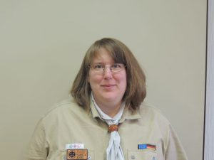 Daniela Kouril : Stammeskuratin, <br /> Trägerwerksvorsitzende, <br />Jungpfadfinderleiterin,