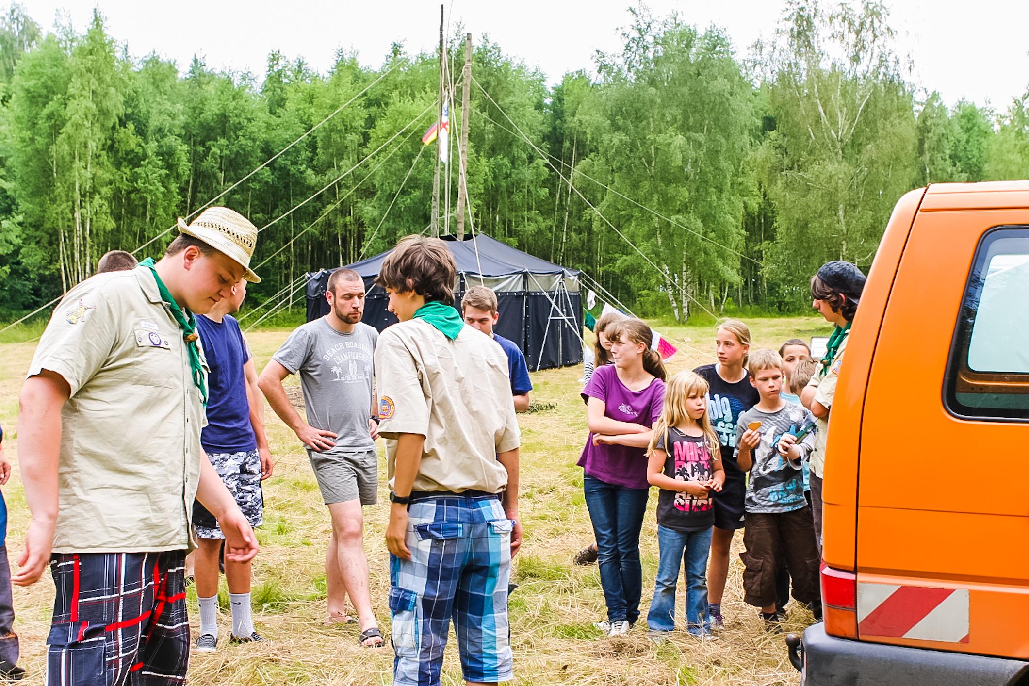 Fotos aus dem Sommerlager in Polen/Masuren