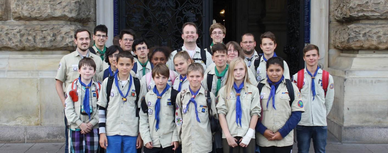 Sommerlager 2014 der Jungpfadfinder und Pfadfinder in Norderstedt