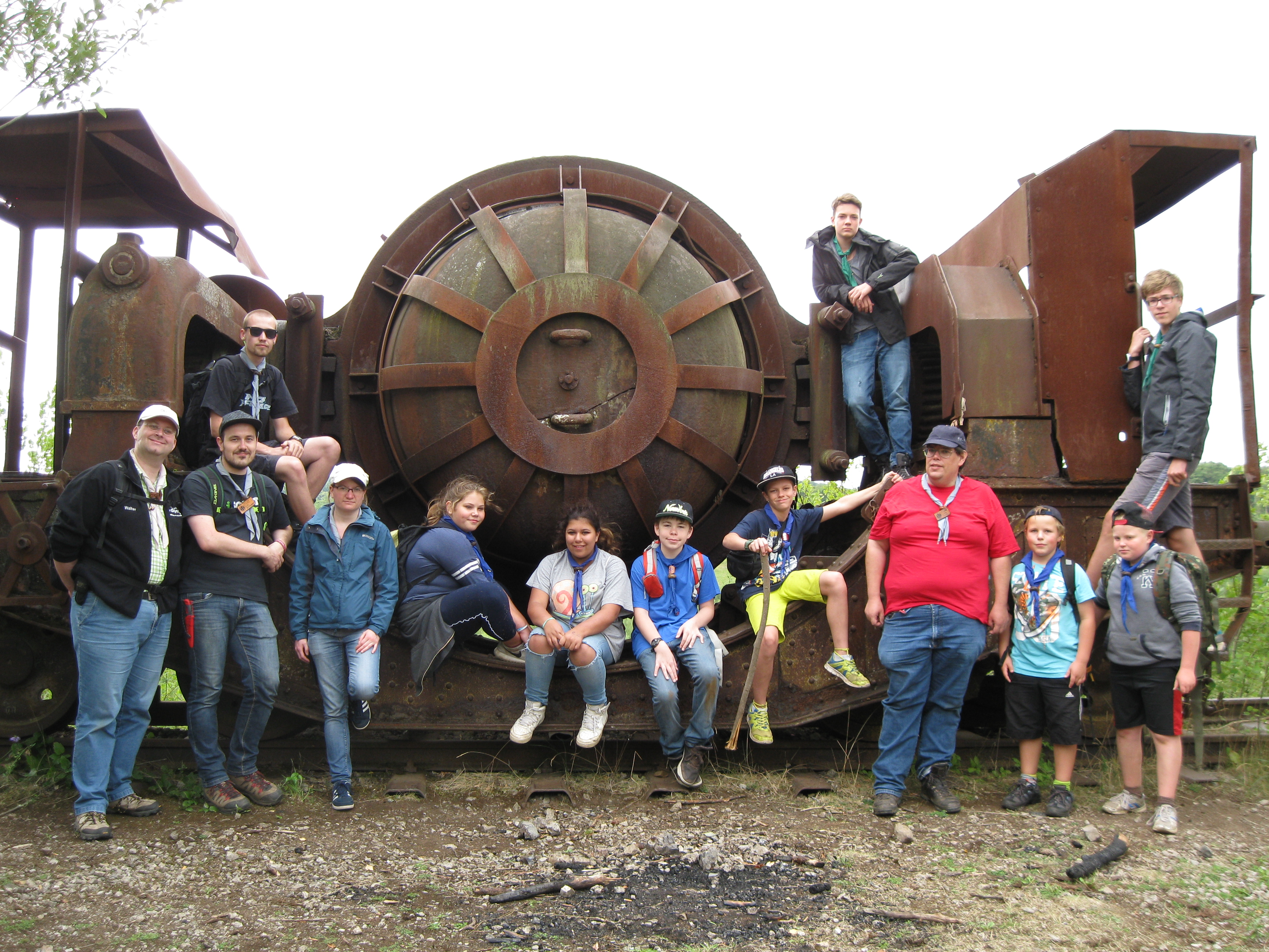 Stammeslager 2015 Dudelange Luxembourg
